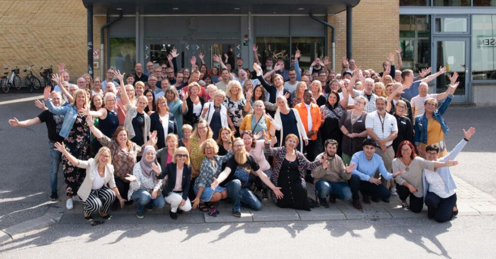 Bild på våra medarbetare på Magnus Åbergsgymnasiet