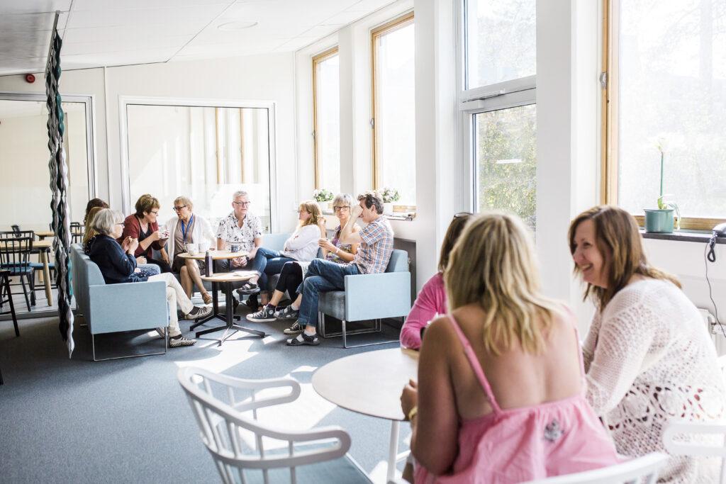 Bild från personalrummet på Nils Ericsonsgymnasiet
