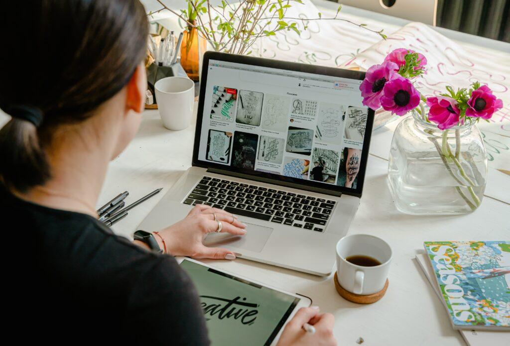 Bild på grafisk design